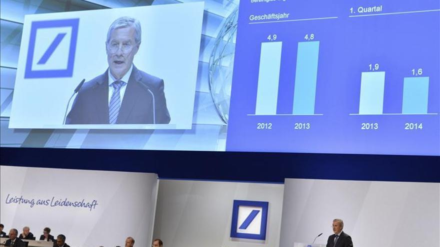 Copresidente de Deutsche Bank Fitschen, acusado por la Justicia de supuesto intento de engaño