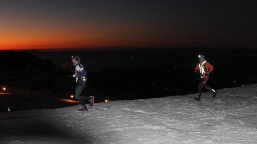Jacob Gutiérrez y Silvia Lara se imponen en el Snow Running Sierra Nevada