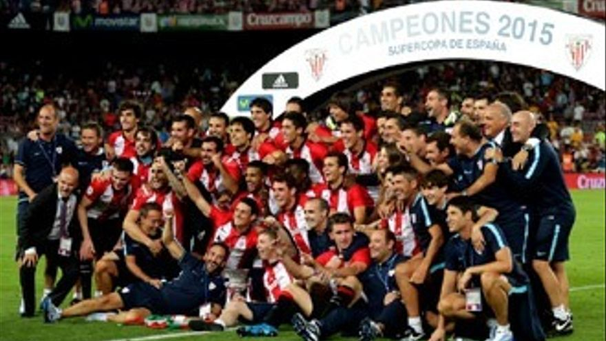 Athletic Supercampeón en Telecinco con momentazos, despiste y humor