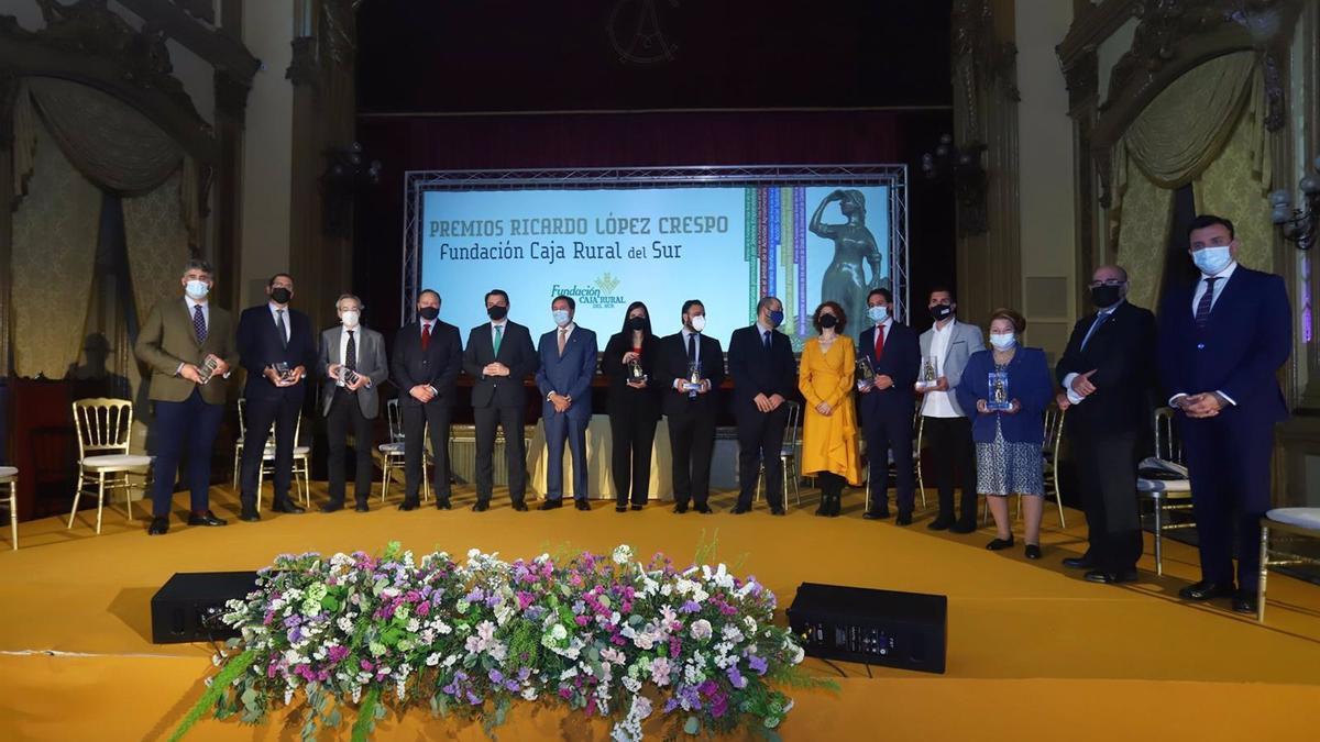 Entrega de los premios de la fundación Caja Rural