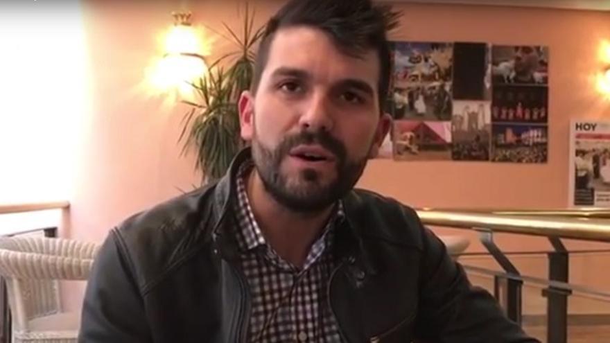 Álvaro Sánchez, alcalde de Salorino