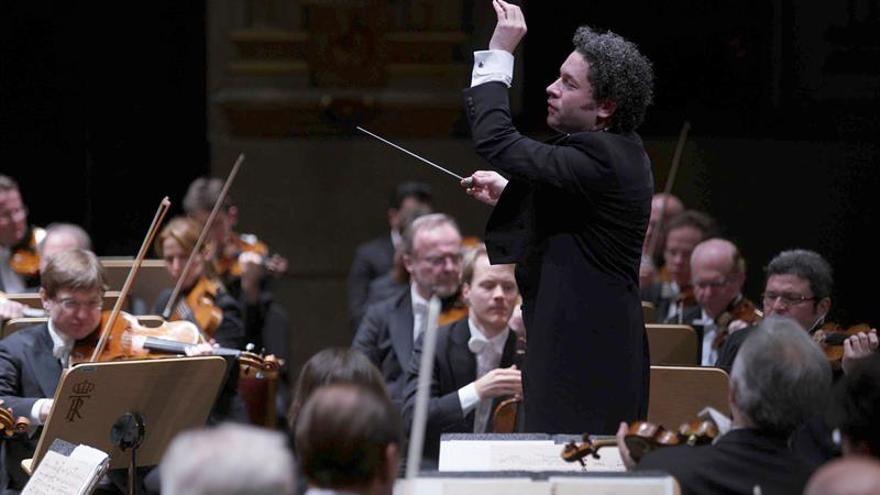 Dudamel brilla en su debut en el Real junto a la Filarmónica de Viena