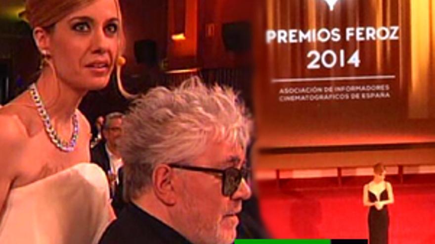 Alexandra Jiménez brilla en unos Premios Feroz que encumbran a 'Stockholm' y '3 Bodas de más'