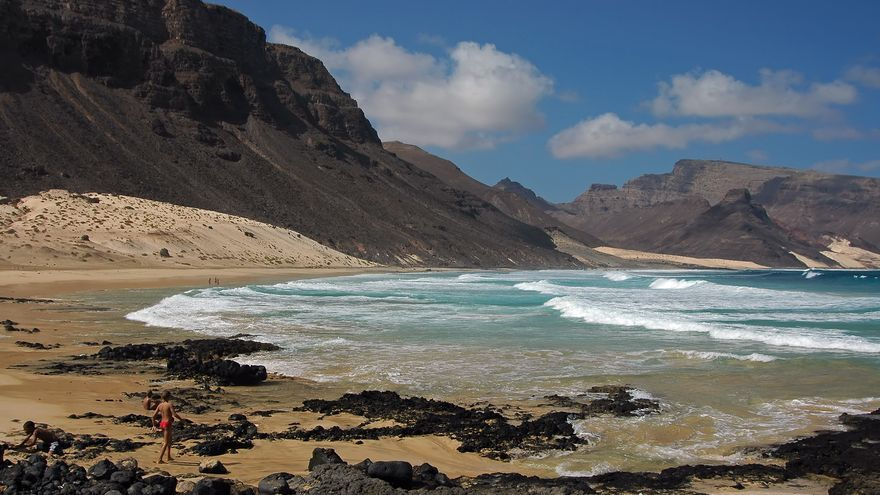 Playas y paisajes volcánicos de Sao Vicente. kogo59