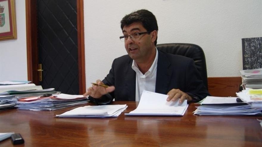 El alcalde de Tegueste, José Manuel Molina