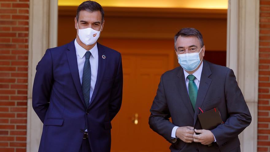 PNV y EH Bildu mantienen su carrera en Madrid por mostrar su eficacia negociadora con el Gobierno de Sánchez