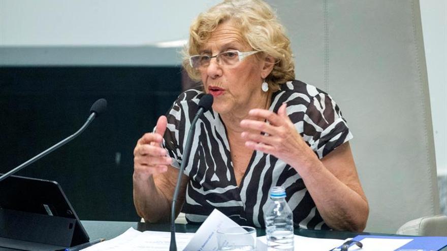 """Carmena: """"Un referéndum no solucionará el problema de Cataluña"""""""