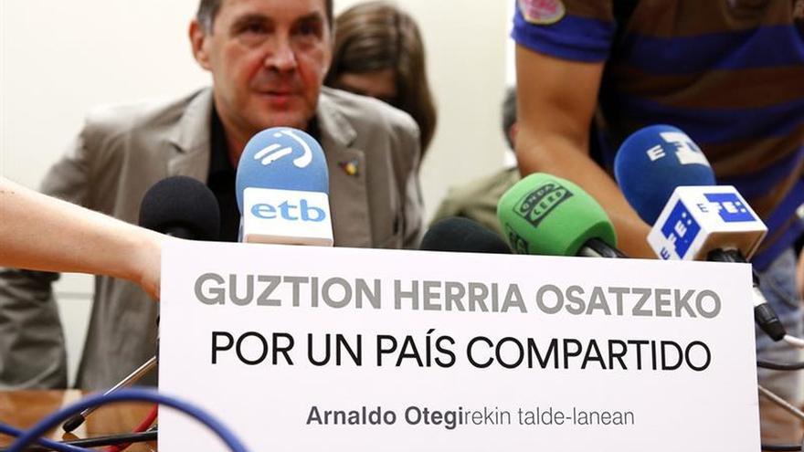 "Otegi da la ""bienvenida"" a Pili Zabala, ""crítica con la izquierda abertzale"""