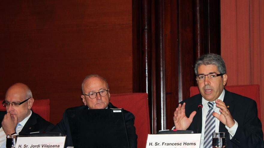 """Homs afirma que una Cataluña independiente no gastaría tanto en acción exterior como """"otros"""""""