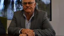 Carlos  Cabrera, consejero de Aguas, Transportes, Industria y Energía del Cabildo de La Palma.