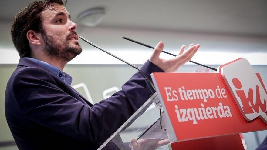 Alberto Garzón preside el Consejo Político Federal de IU