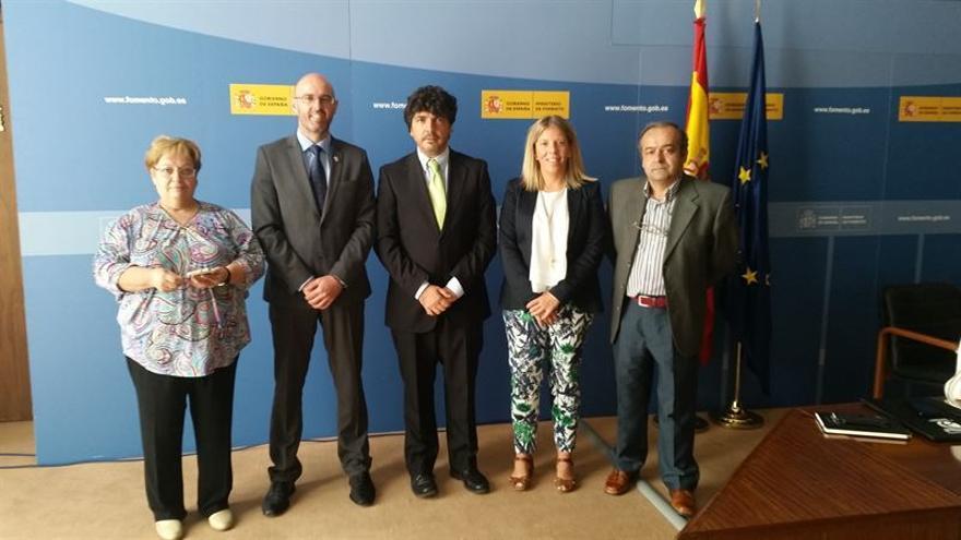 Reunión de los alcaldes de Argamasilla y Tomelloso con Fomento