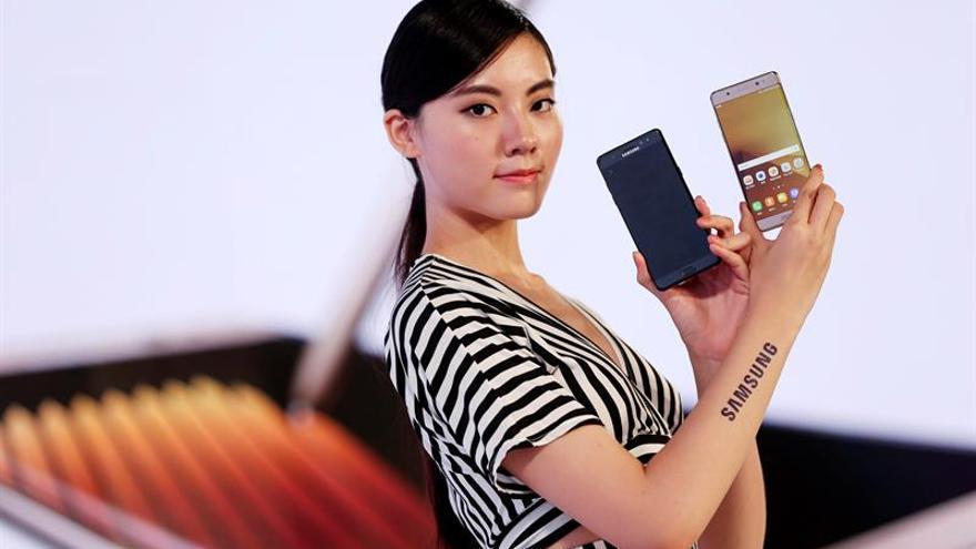 Samsung retira provisionalmente el Note 7 tras varios casos de ignición