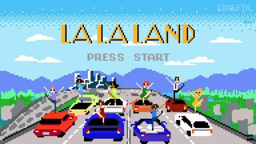 La La Land en 8 bit