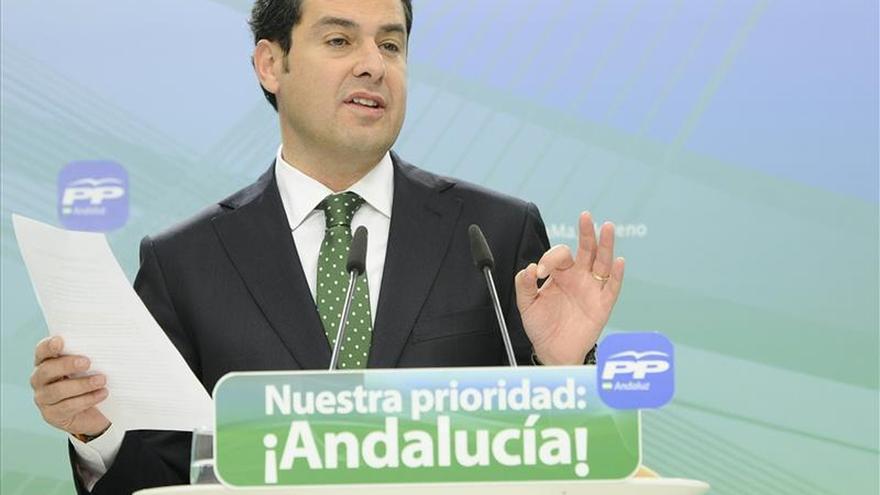 Moreno dice que el PP está en disposición de ganar al PSOE, según sus encuestas