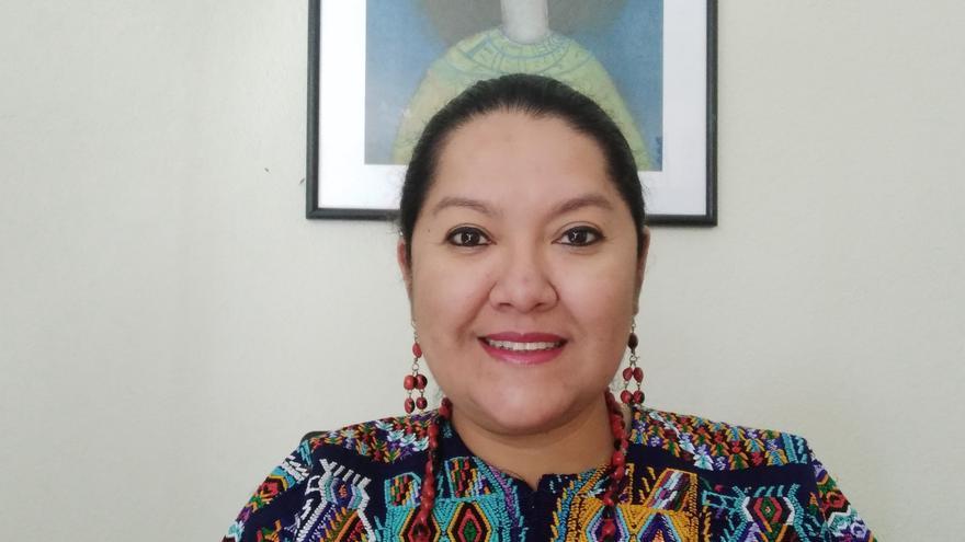 La psicóloga guatemalteca Mónica Pinzón