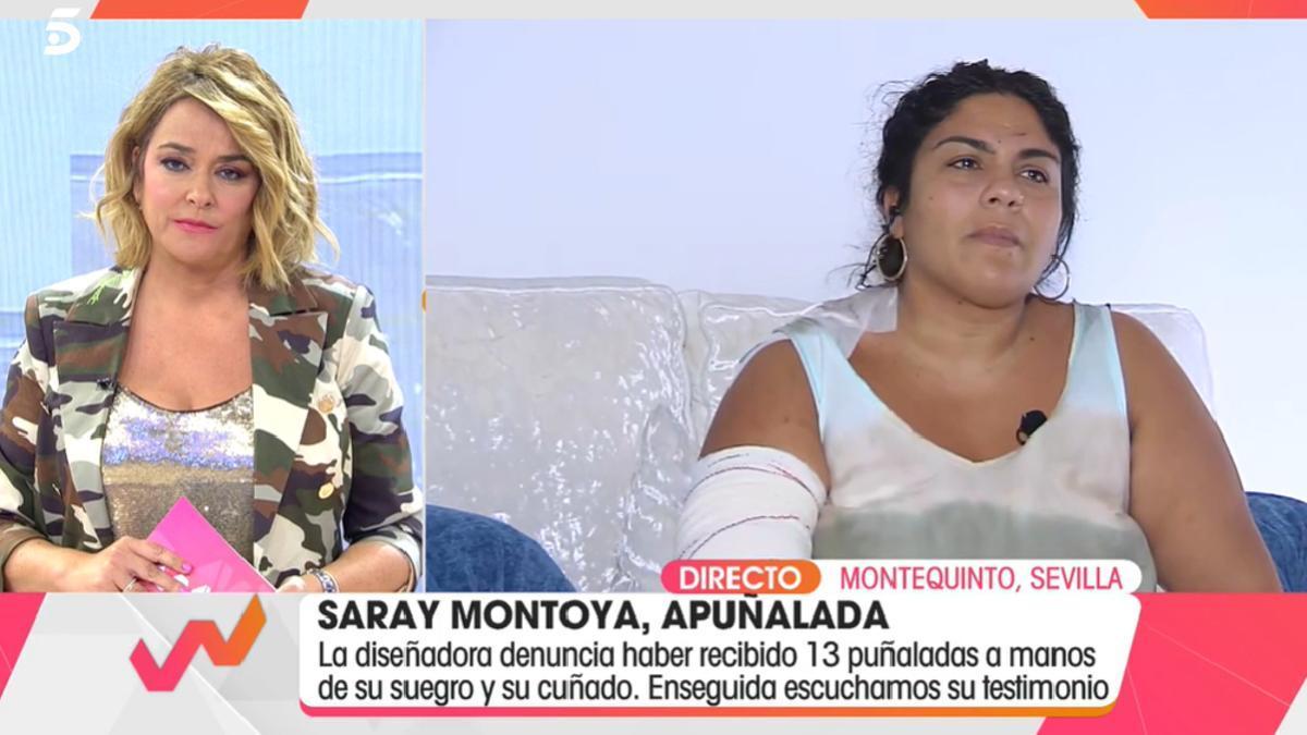 Saray Montoya, en 'Viva la vida'