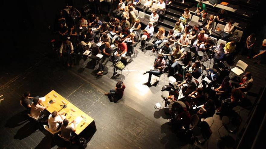 El salón del CENDEAC durante el I Congreso de Pensadores nacidos después de 1975 / CENDEAC
