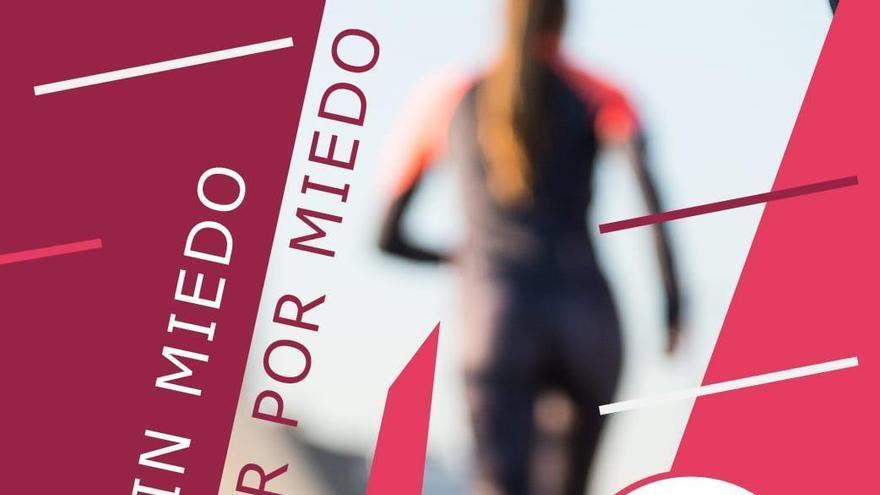 Cartel de la quedada running en Huesca