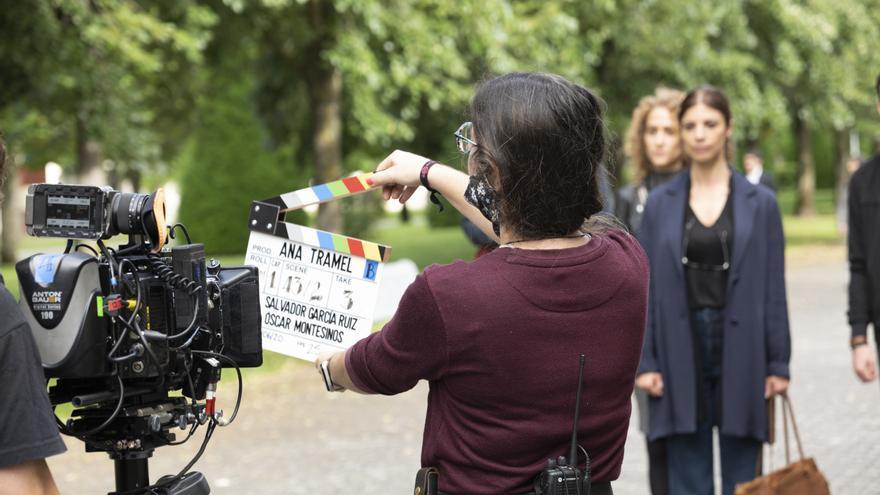 Primera foto del rodaje de 'Ana Tramel. El juego'