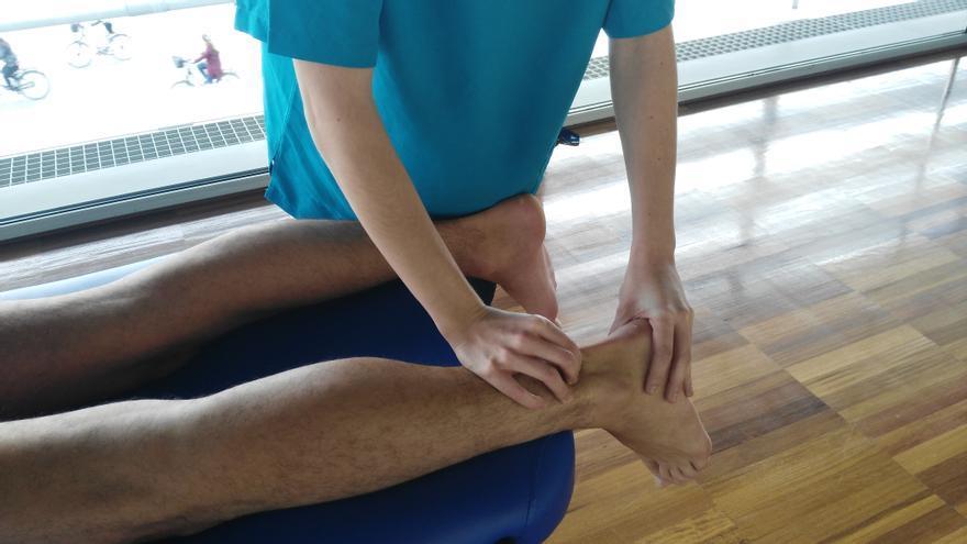 El trabajo de recuperación en las articulaciones es fundamental para el corredor.