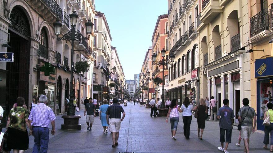 La calle Alfonso de Zaragoza.