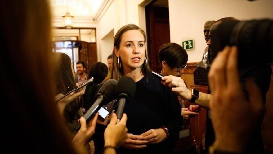 Melisa Rodríguez, diputada de Ciudadanos en el Congreso.