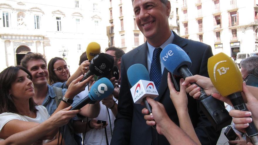 Albiol confía en que el PP tomará una decisión sobre Barberá, pero espera que ella dimita antes