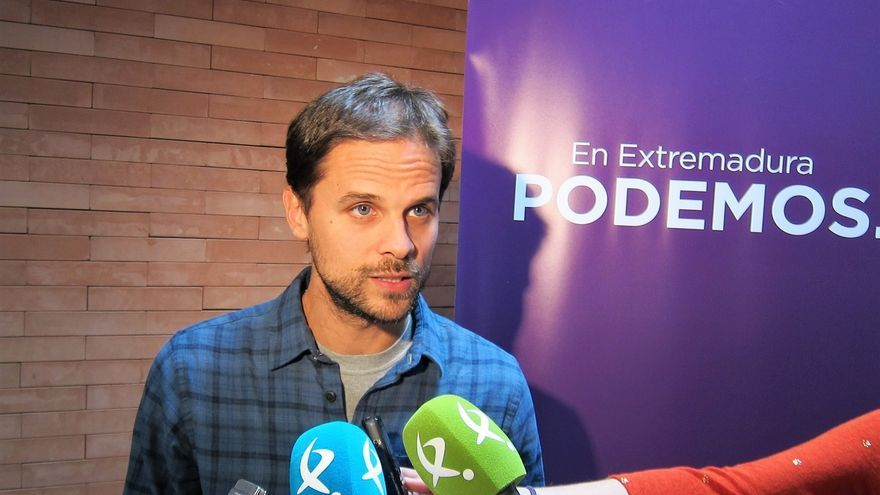 Álvaro Jaén Podemos Extremadura