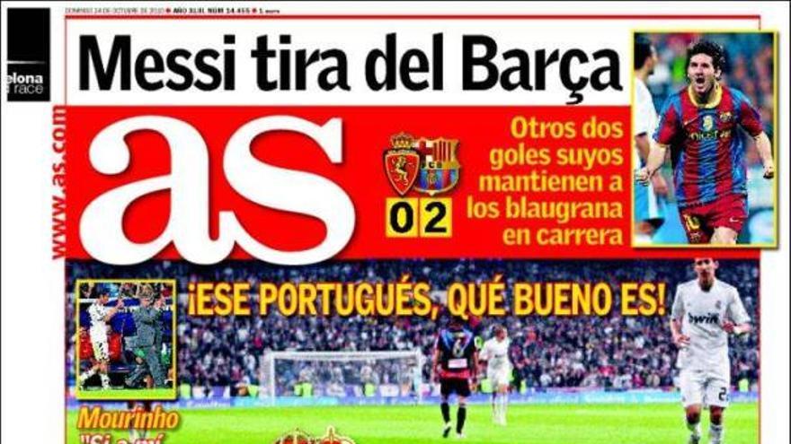 De las portadas del día (24/10/2010) #14