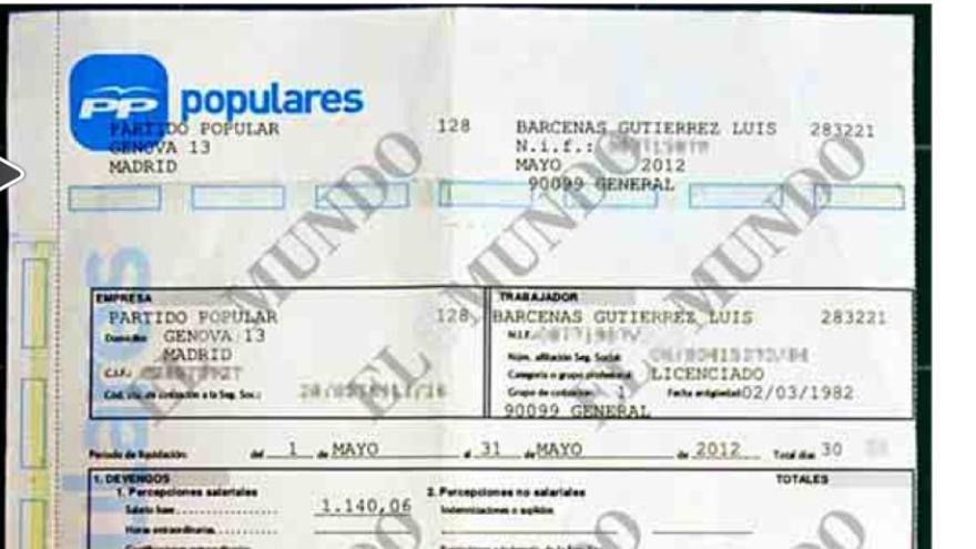El contrato del pp a b rcenas era fraudulento mira lo for Convenio de oficinas y despachos madrid