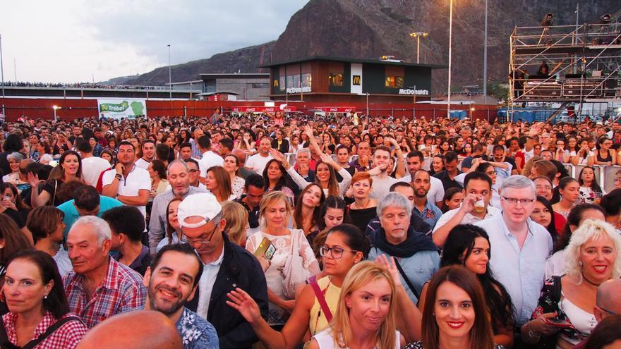 Unas 3.500 personas asistieron al concierto. Foto: JOSÉ AYUT