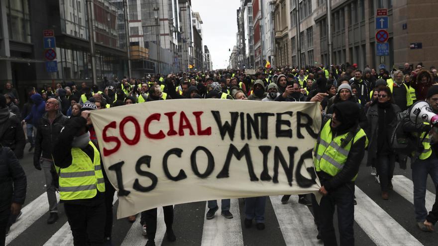 Manifestación en Bruselas este sábado 8 de diciembre / AP Photo/Francisco Seco