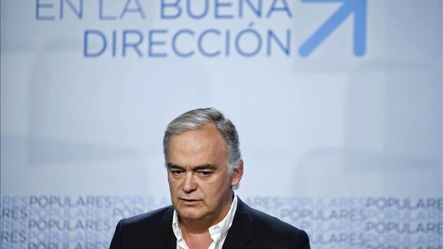 G.Pons cree que el PSOE no firma un pacto anticorrupción por Chaves y Griñán