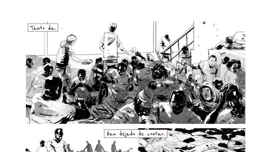 Imagen del cómic 'Como si nunca hubieran sido'