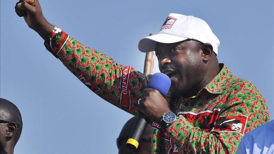 """EE.UU.todavía reconoce a Nkurunziza como """"presidente legítimo"""" de Burundi"""