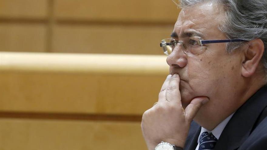 """Zoido reitera que """"no tenía ni idea"""" del caso Lezo cuando le llamó González"""