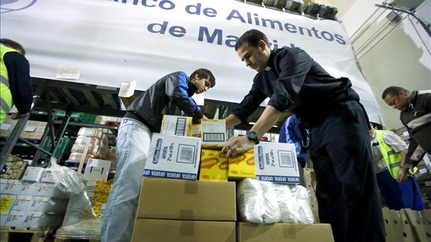 """El programa """"Espejo Público"""" premia hoy a la Fundación Banco de Alimentos"""