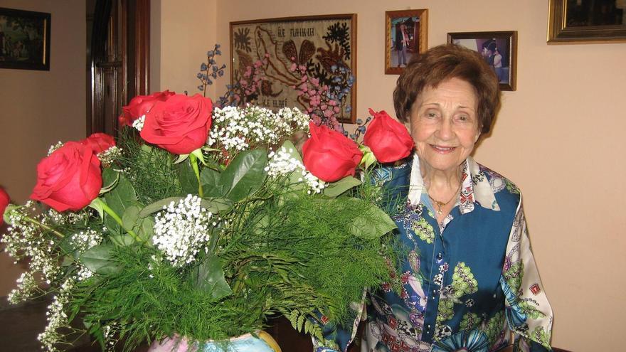 Ángeles Flórez, también llamada Maricuela, es una de las últimas milicianas españolas vivas