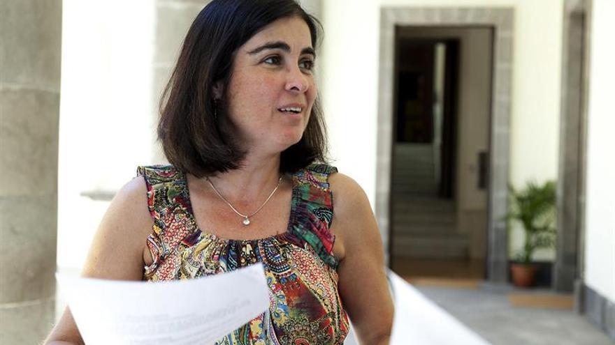 La presidenta del Parlamento de Canarias, Carolina Darias (EFE/RAMÓN DE LA ROCHA)