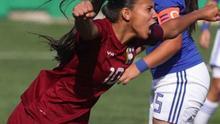 Yerliane Moreno, conocida  futbolísticamente como 'La Pantera'.