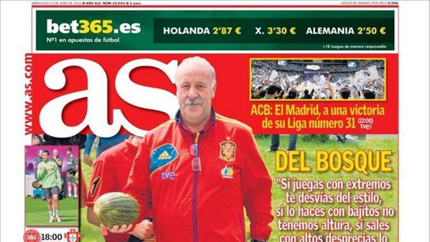 De las portadas del día (13/06/2012) #13