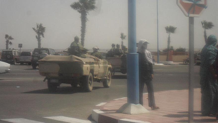 De los disturbios en Dajla #13