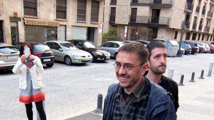 Monedero dice que había que aplicar el 155 en Cataluña, pero critica la forma en que lo aplicó Rajoy