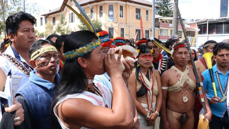 Indígenas en Ecuador levantan sus lanzas por la defensa de la Amazonía