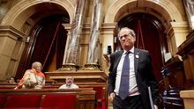 Torra en el Parlament