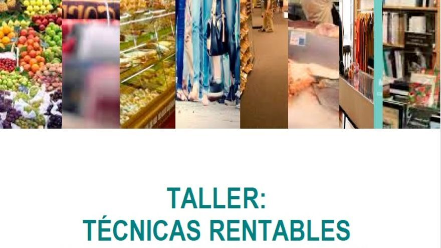 Cartel del Taller de Escaparatismo.