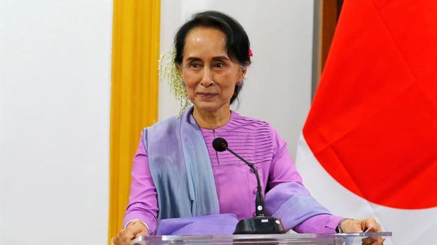 Suu Kyi: El reconocimiento de crímenes contra rohinyás es un paso positivo