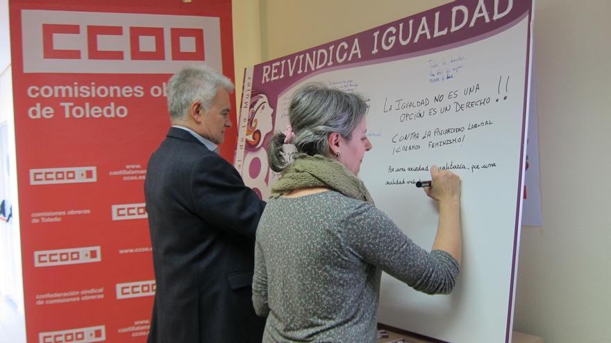 CCOO e Instituto de la Mujer C-LM aúnan esfuerzos para erradicar las desigualdades de género en la región