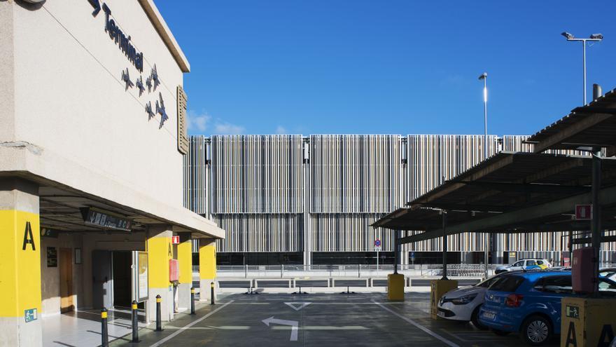Aparcamiento en el Aeropuerto de Gran Canaria